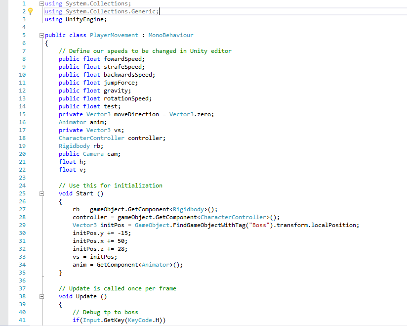 CAP4053 AI for Game Programming Group 9
